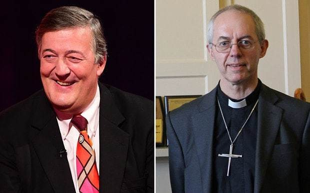 Stephen Fry has every right to call God an evil, monstrous maniac ... says Archbishop