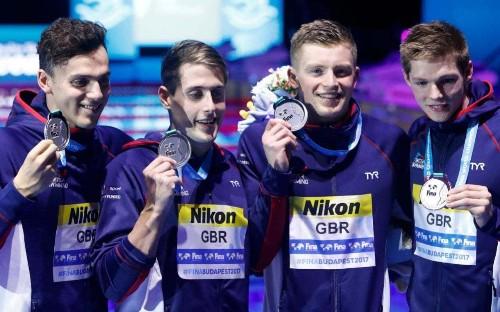 Adam Peaty powers medley team to World Championships silver