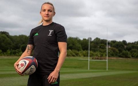 'I did six months labouring and then a year on a dump truck': Harlequins' Chloe Rollie on her rise to professional rugby