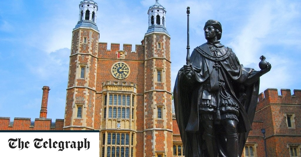 Eton may not always have been publicly 'woke', but it's been culturally left-wing for some time