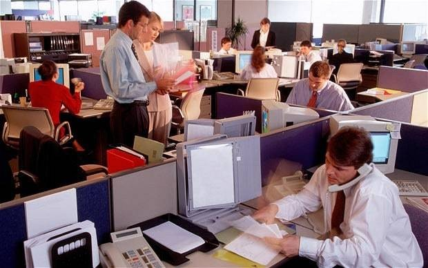 Sitting further away from your boss makes you a better worker, study suggests
