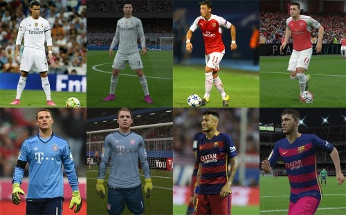 The best 25 players in the world according to Fifa 16, and what they look like in the game - Telegraph