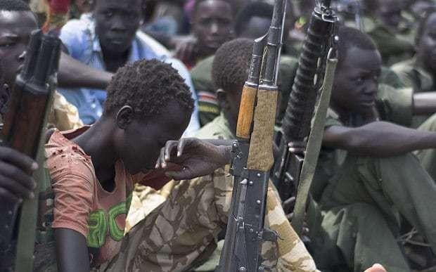 Half of South Sudan's children 'not in school' because of war