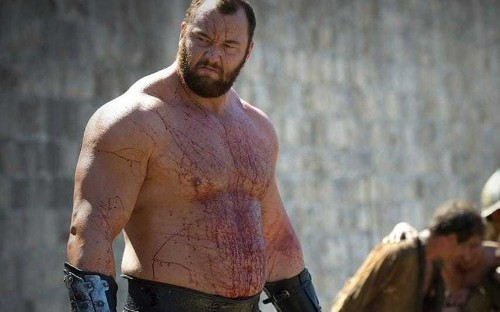 Unbelievable photo emerges of The Mountain from Game of Thrones before he bulked up