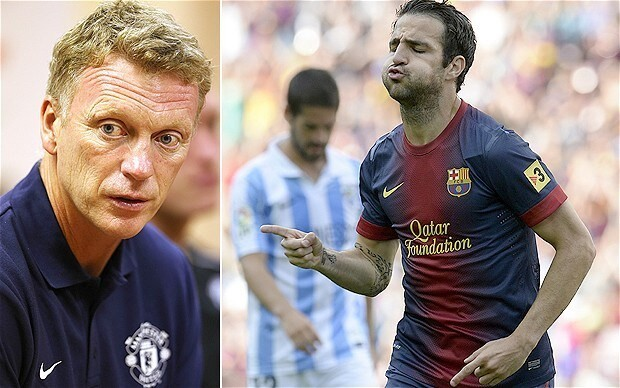 Manchester United manager David Moyes unsure if club will make third bid for Barcelona's Cesc Fabregas