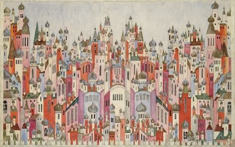 Natalia Goncharova review, Tate Modern: an unstoppable enthusiasm for form, shape and colour