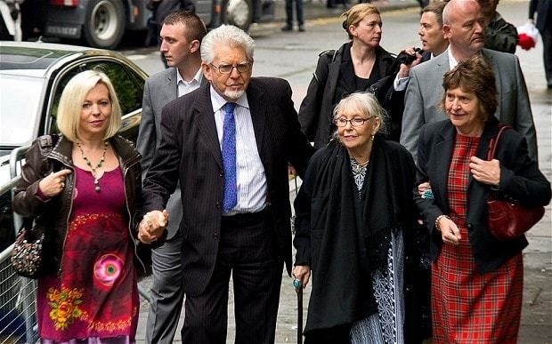 Rolf Harris trial: entertainer admits complimenting 13-year-old girl on her bikini