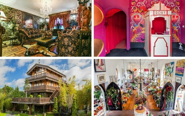 For sale: Britain's most OTT homes
