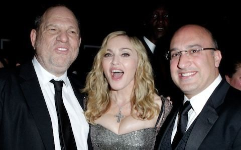 Madonna claims Harvey Weinstein 'crossed lines and boundaries' when she worked with him