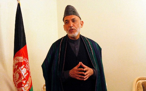 'I was right like hell': former Afghan president Hamid Karzai says peace deal vindicates talking to the Taliban