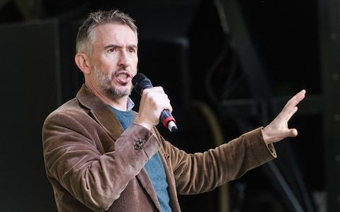 Outrage as Steve Coogan brands Conservative voters 'ignorant'