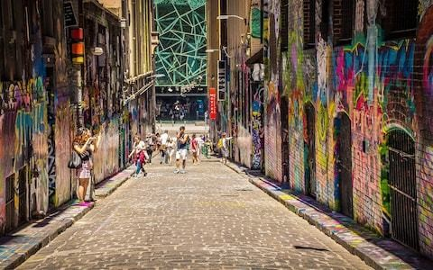 'My rebel grandmother would approve' – a street art lesson in the laneways of Melbourne