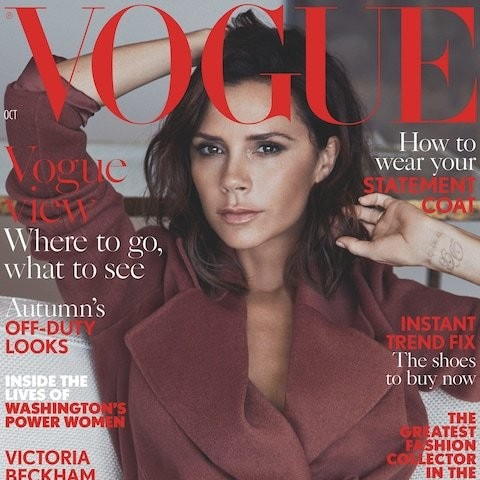 'You are not the prettiest, or the thinnest': Victoria Beckham writes letter to her 18-year-old self in Vogue's October issue