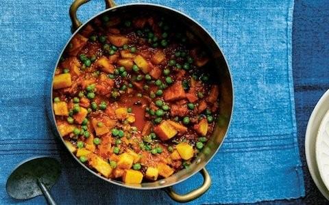 Parsee-style vegetable wedding stew recipe