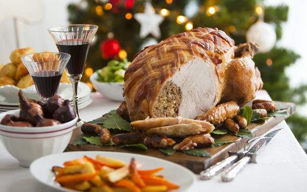 From Brussels sprouts to turkey, here's how to have a truly British Christmas dinner
