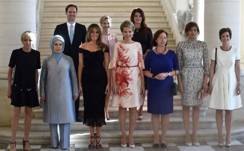 White House accused of homophobia after Luxembourg PM's husband omitted from photo caption