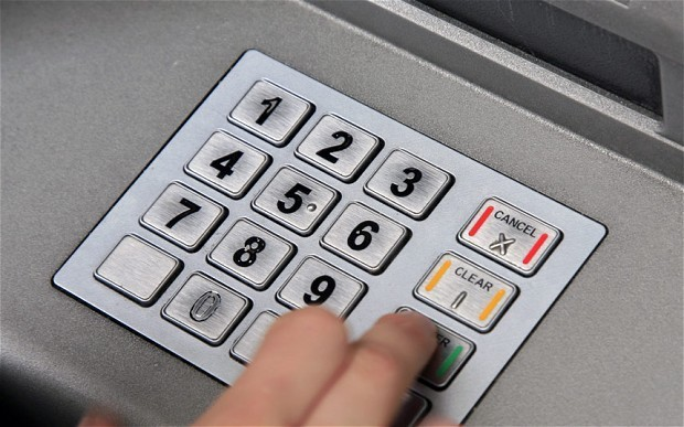 New cash machines: withdraw money with veins in your finger