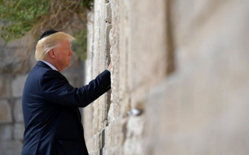 Israel to name new Jerusalem train station after Donald Trump