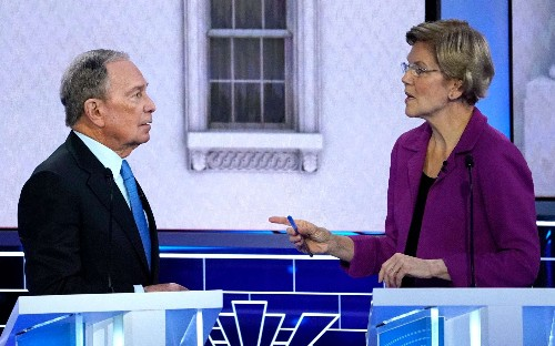 Bloomberg mulling negative attack ads on other Democratic candidates after debate disaster