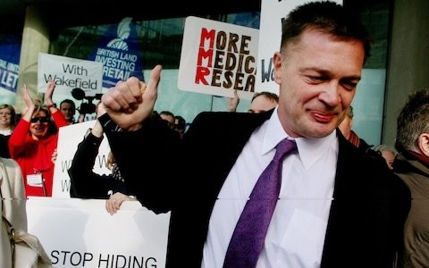 Sequel to Andrew Wakefield's anti-vaccine film to be released in secret venues across US