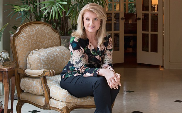 Arianna Huffington: 'The third revolution is to change the world that men have designed'