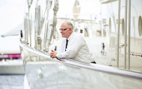 Burgess boss Jonathan Beckett on going from 'living on rice' to selling superyachts