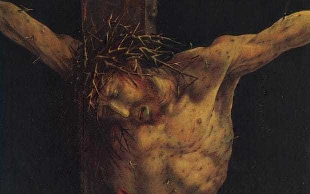At the centre of all moral inquiry is the Crucifixion of Jesus