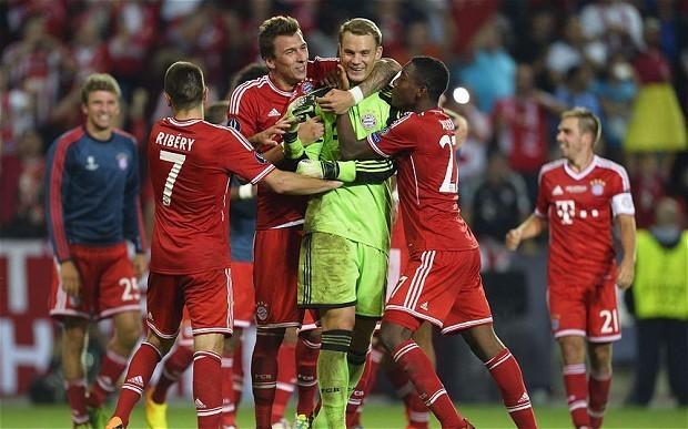 Bayern Munich 2 Chelsea 2 (aet); Bayern win 5-4 on pens: match report
