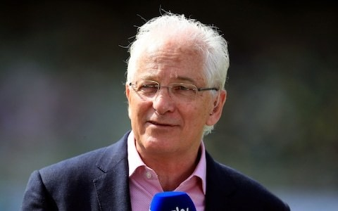 David Gower's expletive unwittingly caught on air to social media's amusement