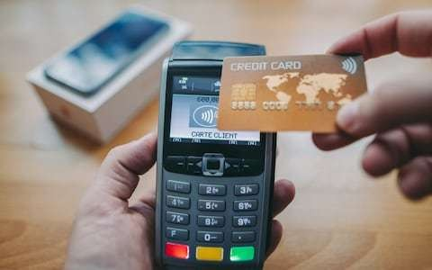 Half of all debit card payments are now contactless for the first time