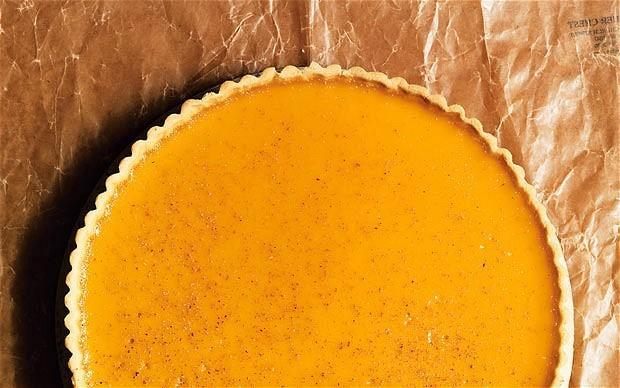 Maple custard tart recipe