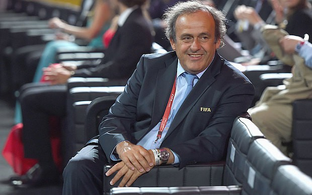 Michel Platini: I am still the best man to run Fifa