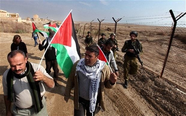 Israel 'proposes land swap' as part of peace deal with Palestinians