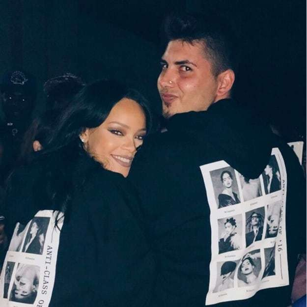 Rihanna sent inspiring private messages to a fan and helped him come out of the closet