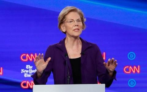 Democratic debate: Rivals turn fire on Elizabeth Warren over healthcare