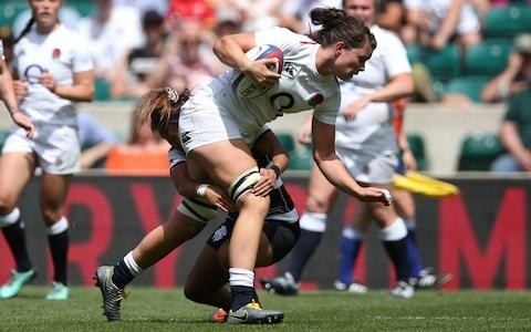 England expect to face much-improved USA when they begin Women's Rugby Super Series campaign