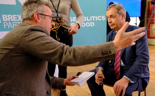 Nigel Farage on standing down over 300 Brexit Party candidates: 'I know I have upset people'