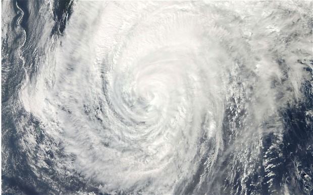 Japan braces itself for 'once in a decade' typhoon