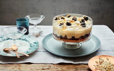 Bramble Tipsy Laird trifle recipe