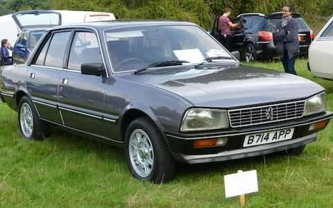 UK's rarest cars: 1985 Peugeot 505 GTi, one of only two left on British roads