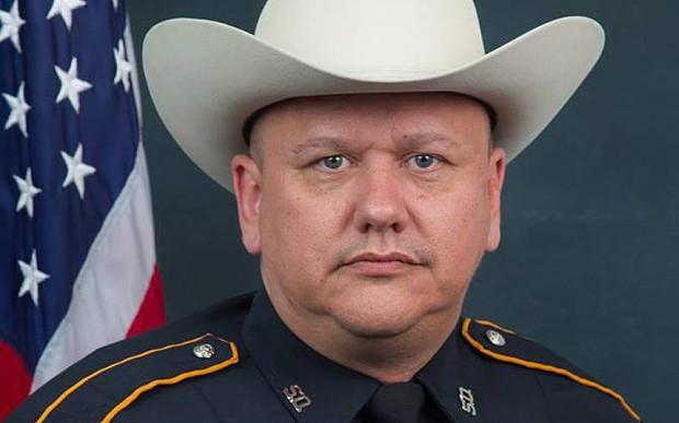 Sheriff blames 'anti-police rhetoric' for killing of white police officer