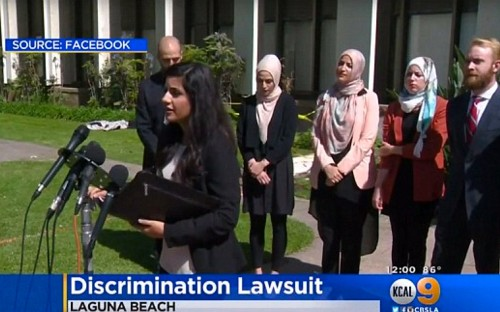 Muslim women sue California cafe after they were asked to leave 'for being visibly Muslim'