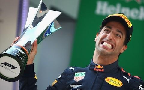 Daniel Ricciardo leaves door open to join Mercedes next season