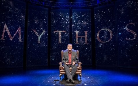 Mythos: Gods review, Festival Theatre, Edinburgh International Festival: a fascinating evening with a titan of storytelling