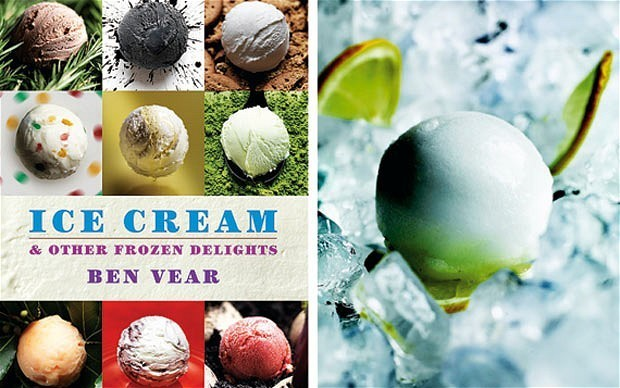 Cookbook of the week: ice cream by Ben Vear