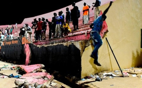 Eight dead after wall collapses at Senegal football stadium
