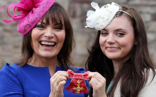 Lorraine Kelly's friendly personality? It's all part of the act, says judge
