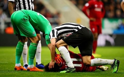 Mohamed Salah ruled out of Liverpool's Barcelona Champions League home tie with concussion