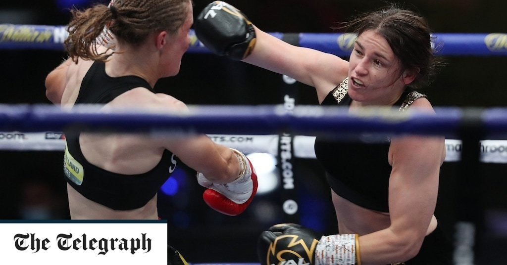 Katie Taylor wins second thrilling encounter with Belgian Delfine Persoon