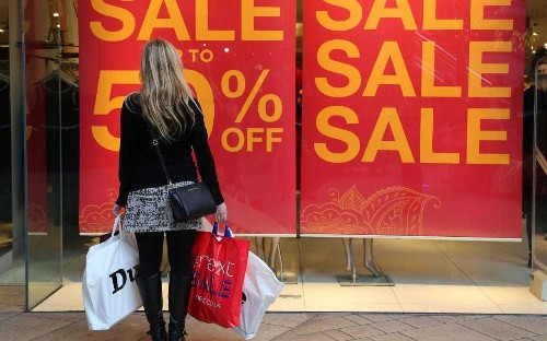 Consumers start to feel the pinch as UK retail sales slow down